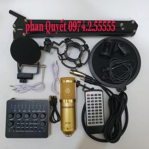 combo bộ míc thu âm livestream hát karaoke online micro woaichang BM-900 card v10 bluetooth chân kẹp màng lọc tai nghe - 9106216 , 18806624 , 15_18806624 , 830000 , combo-bo-mic-thu-am-livestream-hat-karaoke-online-micro-woaichang-BM-900-card-v10-bluetooth-chan-kep-mang-loc-tai-nghe-15_18806624 , sendo.vn , combo bộ míc thu âm livestream hát karaoke online micro woaich