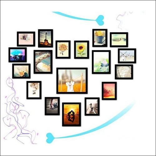 Bộ 18 khung ảnh treo tường hình trái tim KAD1803 - 4847319 , 18817439 , 15_18817439 , 530000 , Bo-18-khung-anh-treo-tuong-hinh-trai-tim-KAD1803-15_18817439 , sendo.vn , Bộ 18 khung ảnh treo tường hình trái tim KAD1803
