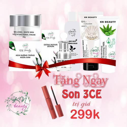 Bộ sản phẩm chăm sóc da công Nghệ Thái Lan KN Beauty đặc trị Thâm Nám - 9105919 , 18806286 , 15_18806286 , 1260000 , Bo-san-pham-cham-soc-da-cong-Nghe-Thai-Lan-KN-Beauty-dac-tri-Tham-Nam-15_18806286 , sendo.vn , Bộ sản phẩm chăm sóc da công Nghệ Thái Lan KN Beauty đặc trị Thâm Nám