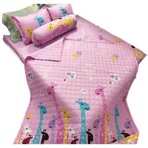 Bộ chăn ga gối hè poly cotton 5 món - 9105464 , 18805485 , 15_18805485 , 350000 , Bo-chan-ga-goi-he-poly-cotton-5-mon-15_18805485 , sendo.vn , Bộ chăn ga gối hè poly cotton 5 món