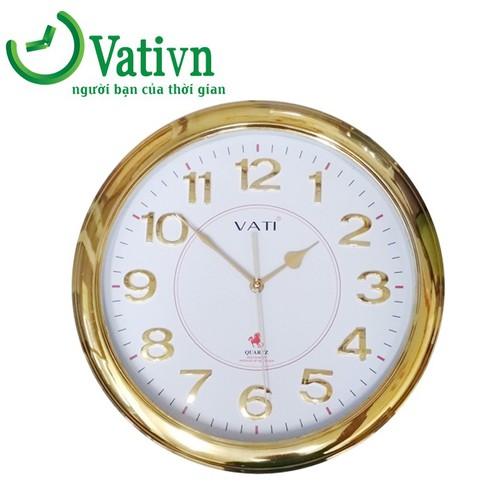 Đồng hồ treo tường hình tròn Vati S62
