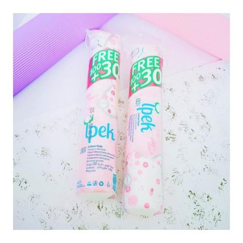 Bông tẩy trang Ipek 130 miếng  Ipek cotton pads