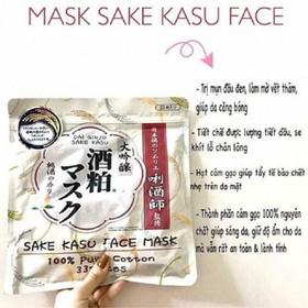Mặt nạ Sake Kasu 33 miếng Nhật Bản - 0114