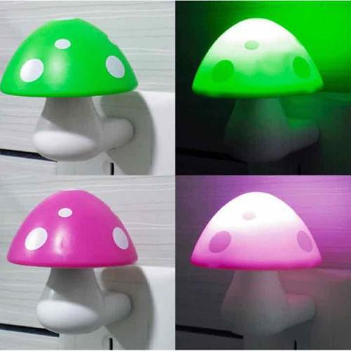đèn ngủ cái nấm cảm ứng thông minh