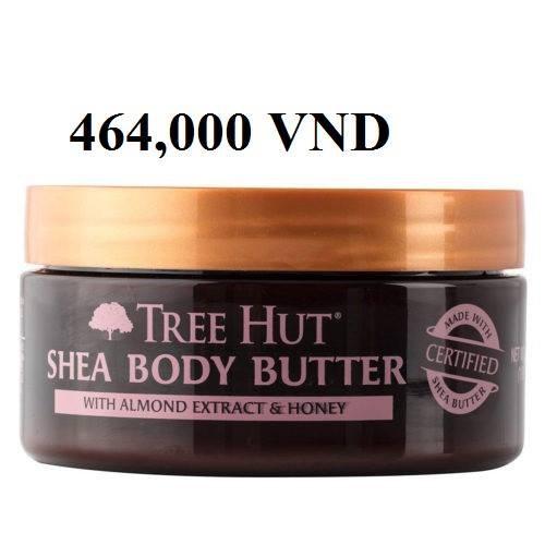 Bơ dưỡng thể Almond & Honey