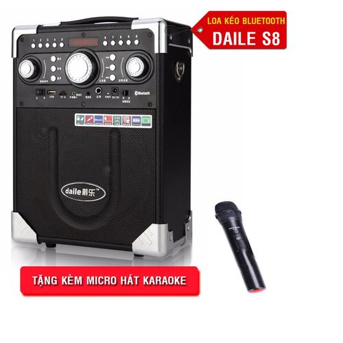 Loa kéo Daile S8 có mic