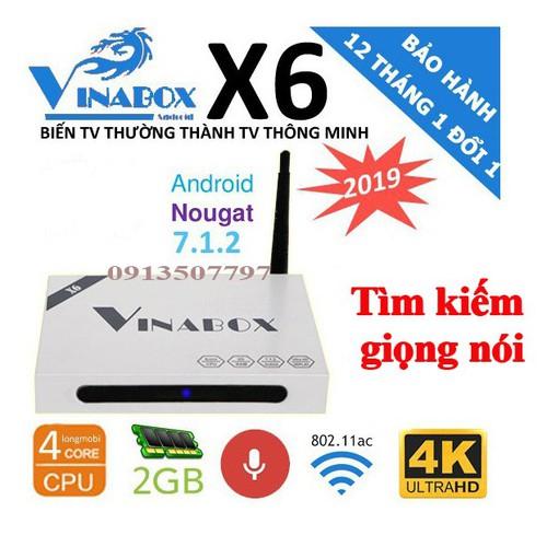 Android TV box VINABOX X6 - CHIP LÕI TỨ, RAM 2GB - ĐIỀU KHIỂN BẰNG GIỌNG NÓI - 9112910 , 18816194 , 15_18816194 , 630000 , Android-TV-box-VINABOX-X6-CHIP-LOI-TU-RAM-2GB-DIEU-KHIEN-BANG-GIONG-NOI-15_18816194 , sendo.vn , Android TV box VINABOX X6 - CHIP LÕI TỨ, RAM 2GB - ĐIỀU KHIỂN BẰNG GIỌNG NÓI