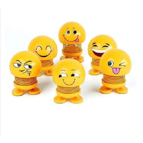 Thú Nhún Emoji con lắc lò xo giúp xã stress