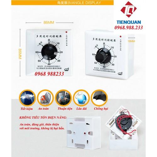 Công tắc hẹn giờ đếm ngược 15A- Dùng cho máy bơm nước - 9111997 , 18815147 , 15_18815147 , 118000 , Cong-tac-hen-gio-dem-nguoc-15A-Dung-cho-may-bom-nuoc-15_18815147 , sendo.vn , Công tắc hẹn giờ đếm ngược 15A- Dùng cho máy bơm nước