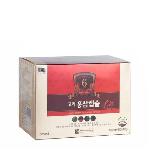 Viên uống hồng sâm Hàn Quốc 6 năm tuổi Chong Kun Dang 6 Years Korean Red Ginseng Capsule 120 viên - 9111464 , 18813956 , 15_18813956 , 1090000 , Vien-uong-hong-sam-Han-Quoc-6-nam-tuoi-Chong-Kun-Dang-6-Years-Korean-Red-Ginseng-Capsule-120-vien-15_18813956 , sendo.vn , Viên uống hồng sâm Hàn Quốc 6 năm tuổi Chong Kun Dang 6 Years Korean Red Ginseng C
