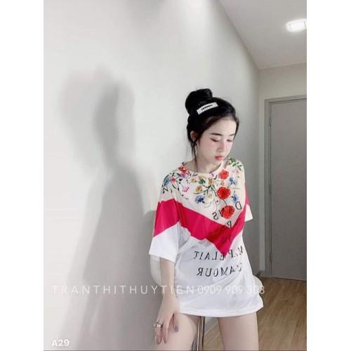 áo thun kiểu nữ form dài