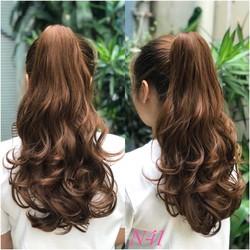 Tóc giả tóc ngoặm xoăn siêu xinh