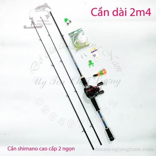 Bộ Cần Câu Lure shimano 2 ngọn dài 2m4, Máy Ngang CD 201 tay trái cao cấp - 9113504 , 18817040 , 15_18817040 , 765000 , Bo-Can-Cau-Lure-shimano-2-ngon-dai-2m4-May-Ngang-CD-201-tay-trai-cao-cap-15_18817040 , sendo.vn , Bộ Cần Câu Lure shimano 2 ngọn dài 2m4, Máy Ngang CD 201 tay trái cao cấp