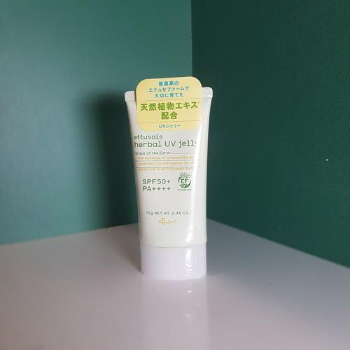 KEm chống nắng Ettusais Herbal UV Jelly 70g- SPF 50+ PA++++