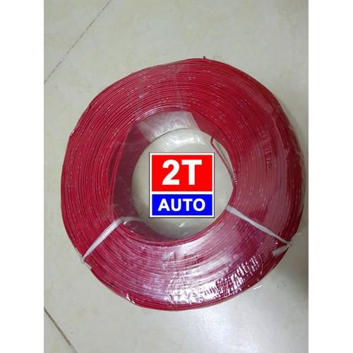 Cuộn 5m dây điện Nhật chuyên dụng cho điện xe hơi, xe máy chịu đươc nhiệt độ và độ ẩm cao- MÀU ĐỎ - 9104887 , 18804286 , 15_18804286 , 30000 , Cuon-5m-day-dien-Nhat-chuyen-dung-cho-dien-xe-hoi-xe-may-chiu-duoc-nhiet-do-va-do-am-cao-MAU-DO-15_18804286 , sendo.vn , Cuộn 5m dây điện Nhật chuyên dụng cho điện xe hơi, xe máy chịu đươc nhiệt độ và độ ẩm