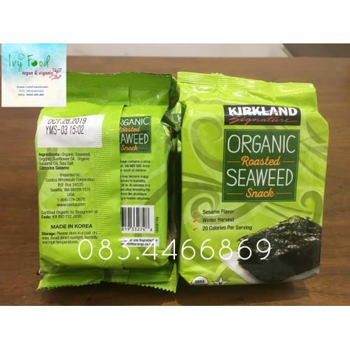 Snack rong biển hữu cơ ăn liền Kirkland gói 17g DATE 28102019 - 9111239 , 18813483 , 15_18813483 , 40000 , Snack-rong-bien-huu-co-an-lien-Kirkland-goi-17g-DATE-28102019-15_18813483 , sendo.vn , Snack rong biển hữu cơ ăn liền Kirkland gói 17g DATE 28102019