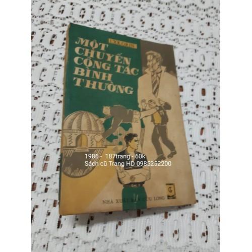 Một chuyến công tác bình thường - sách cũ