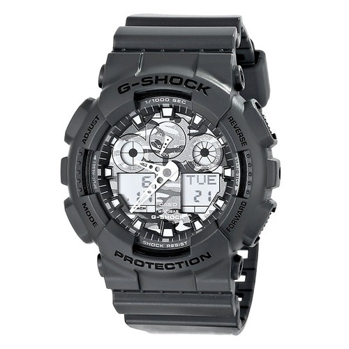 Đồng hồ điện tử G-Shock - Đồng hồ điện tử G-Shock - Casio Nam GA-100CF-8ADR