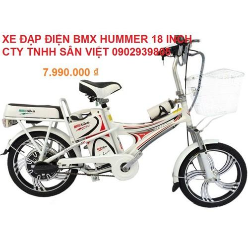 [XE ĐẠP ĐIỆN] BMX HUMMER 18 INCH  CTY TNHH SÂN VIỆT 0902939805