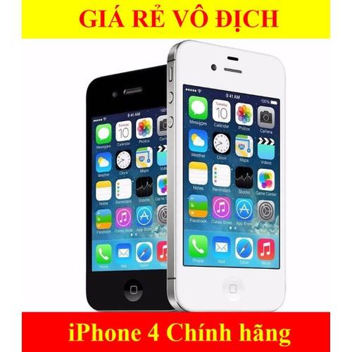 Điện thoại iPhone 4 Quốc tế 8GB Mới 99