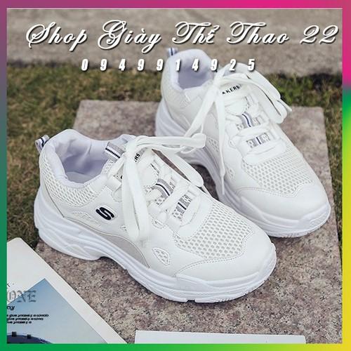 Giày thể thao nữ full trắng
