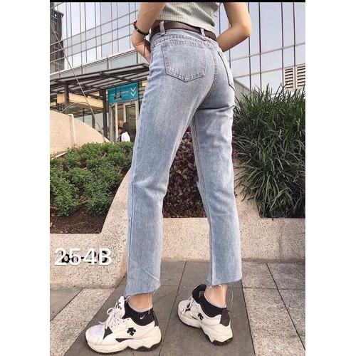 quần baggy jean nữ siêu đẹp