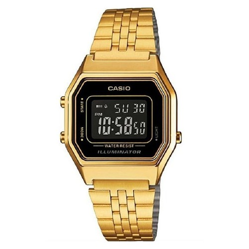 Đồng hồ điện tử - Đồng hồ điện tử Casio Nữ LA680WGA-1BDF