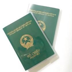 Vỏ Bọc Hộ Chiếu Passport Nhựa Dẻo