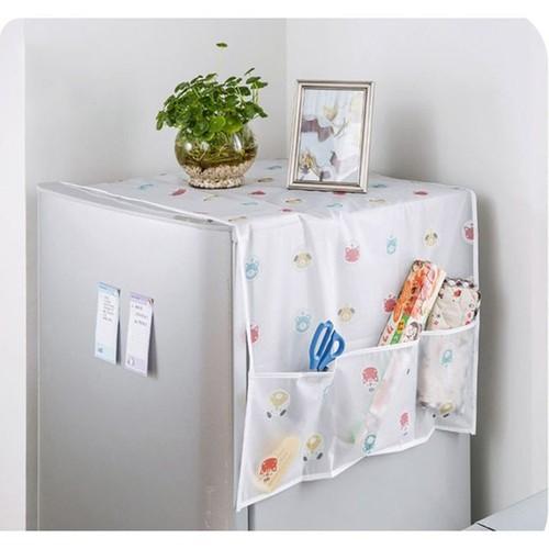 Tấm Phủ Che Bụi Tủ Lạnh Chống Thấm - PK191E