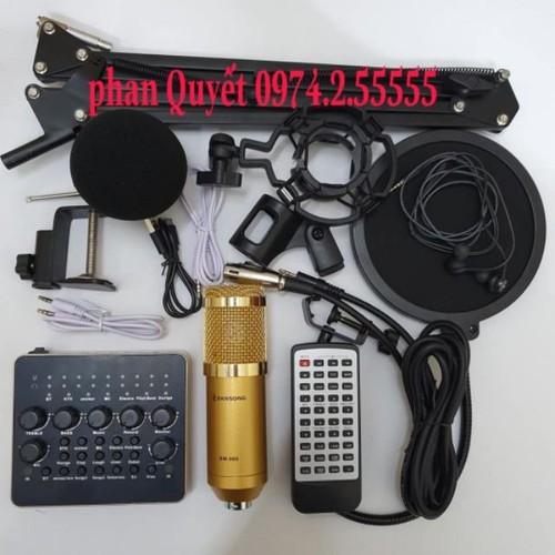 combo bộ míc thu âm livestream hát karaoke online micro ZANGSONG BM-900 card v10 bluetooth chân kẹp màng lọc tai nghe - 9106078 , 18806469 , 15_18806469 , 830000 , combo-bo-mic-thu-am-livestream-hat-karaoke-online-micro-ZANGSONG-BM-900-card-v10-bluetooth-chan-kep-mang-loc-tai-nghe-15_18806469 , sendo.vn , combo bộ míc thu âm livestream hát karaoke online micro ZANGSON
