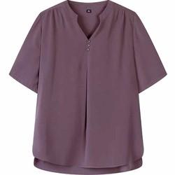 Áo trung niên cao cấp tay ngắn cho ngừoi lớn tuổi (thời trang Lolita xinh) BM508