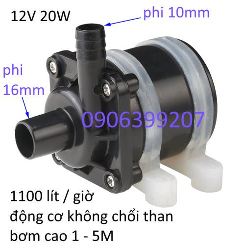 máy bơm nước mini 12V 20W không chổi than - 9118359 , 18824057 , 15_18824057 , 230000 , may-bom-nuoc-mini-12V-20W-khong-choi-than-15_18824057 , sendo.vn , máy bơm nước mini 12V 20W không chổi than