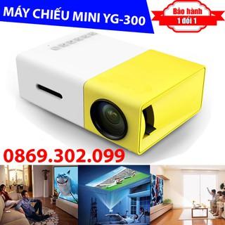 Máy chiếu Mini cho điện thoại YG-300 hỗ trợ độ phân giải lên đến 1920 x 1080 pixel - Máy chiếu YG300 thumbnail