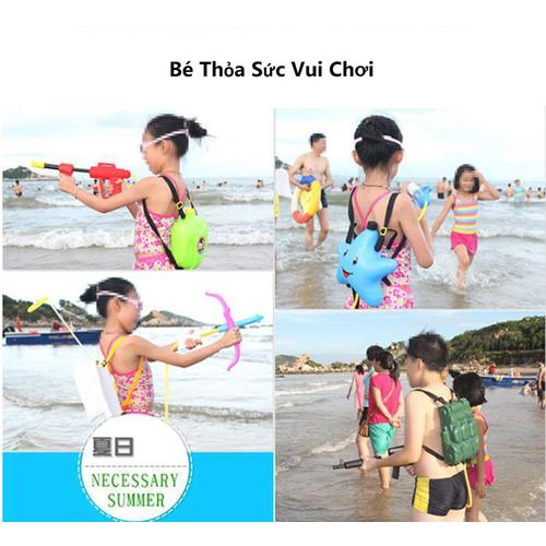 Đồ chơi phun nước có túi đeo balo dành cho bé