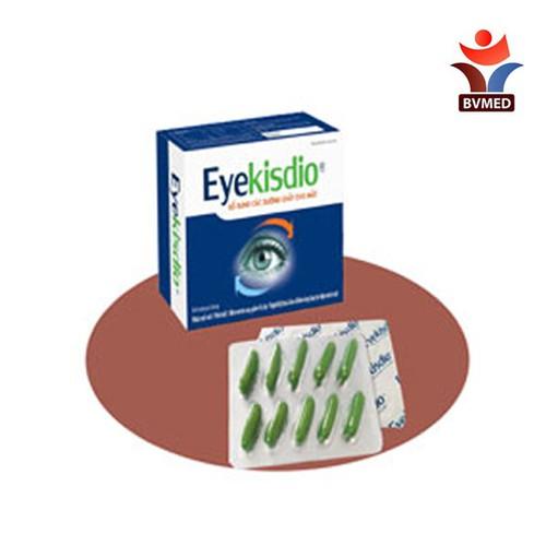 EYEKISDIO - Bổ sung các dưỡng chất cho mắt, hỗ trợ duy trì thị lực mắt, hỗ trợ làm chậm quá trình lão hóa - 9122611 , 18829105 , 15_18829105 , 189000 , EYEKISDIO-Bo-sung-cac-duong-chat-cho-mat-ho-tro-duy-tri-thi-luc-mat-ho-tro-lam-cham-qua-trinh-lao-hoa-15_18829105 , sendo.vn , EYEKISDIO - Bổ sung các dưỡng chất cho mắt, hỗ trợ duy trì thị lực mắt, hỗ trợ