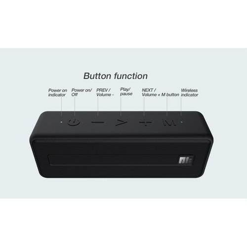 Loa Wireless Traveler W1 Bluetooth chống nước IPX7 NILLKIN