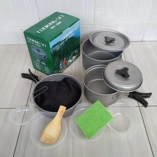 Bộ nồi cắm trại dã ngoại Cooking Set SY 300