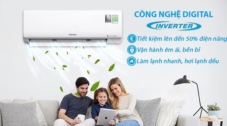 Chế độ một người dùng - Máy lạnh Samsung Inverter 1 HP AR10NVFTAGMNSV