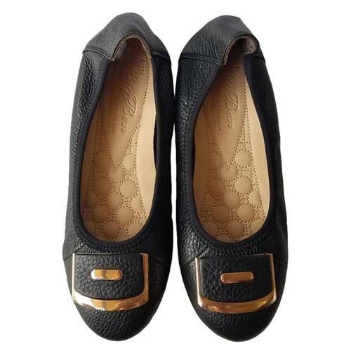 Giày Búp Bê BIGBEN Da Bò Thật Cao Cấp BB63