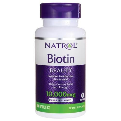 Natrol Biotin 10000 mcg Viên uống hỗ trợ mọc tóc 100 viên - 9121691 , 18828105 , 15_18828105 , 190000 , Natrol-Biotin-10000-mcg-Vien-uong-ho-tro-moc-toc-100-vien-15_18828105 , sendo.vn , Natrol Biotin 10000 mcg Viên uống hỗ trợ mọc tóc 100 viên