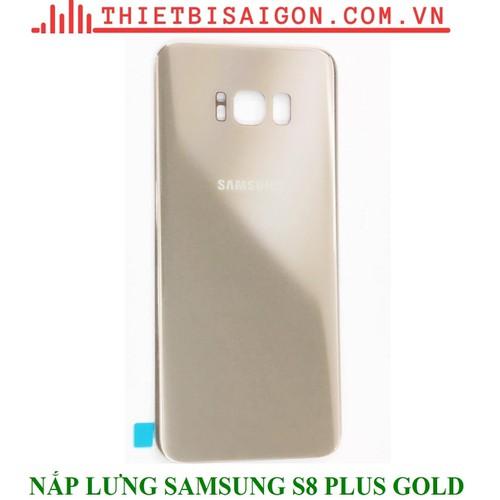 NẮP LƯNG SAMSUNG S8 PLUS MÀU GOLD