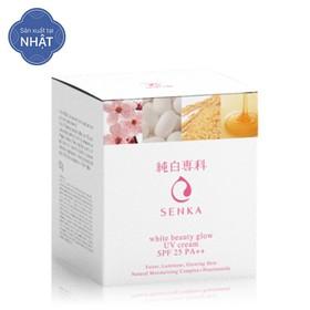 Kem dưỡng trắng sáng và giảm thâm nám ban ngày Senka White Beauty UV Cream 50g SPF 25 PA ++ - 4909978155391-2