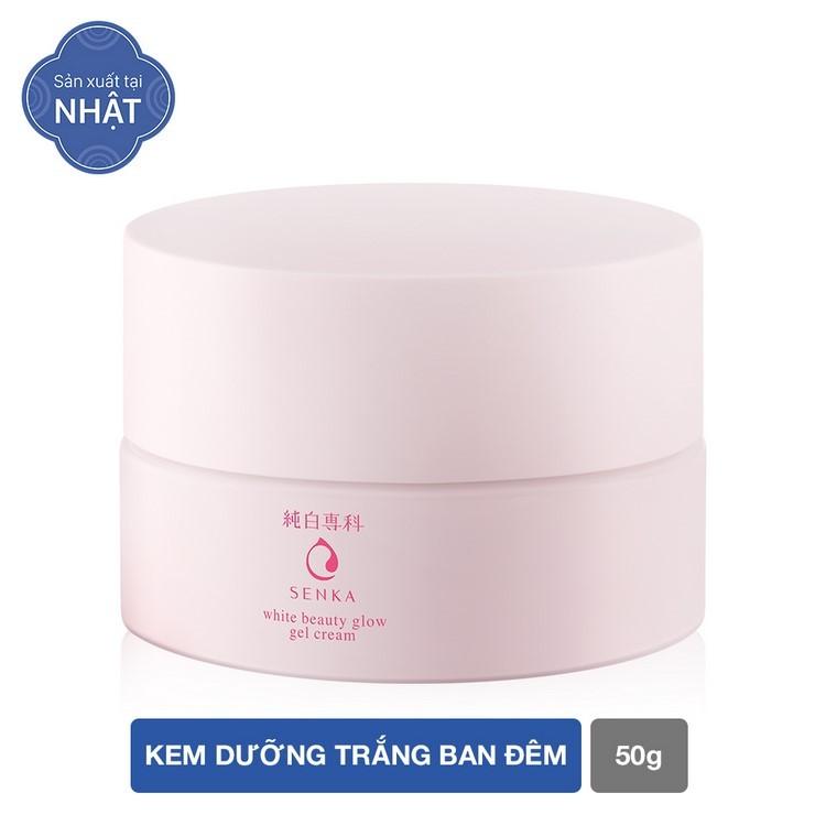Kem dưỡng ban ngày Senka White Beauty Glow UV Cream