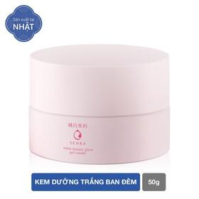 Kem dưỡng trắng da ban đêm Senka White Beauty Glow Gel Cream 50g - 4909978155384