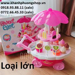 bộ đồ chơi xe kem - đồ chơi xe bán kem