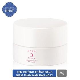 Kem dưỡng trắng sáng và giảm thâm nám ban ngày Senka White Beauty UV Cream 50g SPF 25 PA ++ - 4909978155391