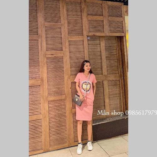 Đầm thun nữ cotton 1976