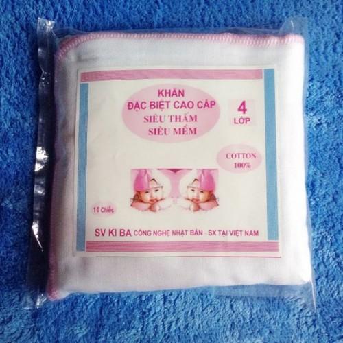 khăn sữa 4 lớp gói 10 chiếc - 9121581 , 18827983 , 15_18827983 , 35000 , khan-sua-4-lop-goi-10-chiec-15_18827983 , sendo.vn , khăn sữa 4 lớp gói 10 chiếc