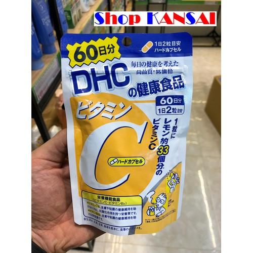Viên uống Vitamin C HDC 120 viên -60 ngày