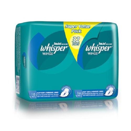 băng vệ sinh whisper 32 miếng có cánh - 9122489 , 18828973 , 15_18828973 , 68900 , bang-ve-sinh-whisper-32-mieng-co-canh-15_18828973 , sendo.vn , băng vệ sinh whisper 32 miếng có cánh